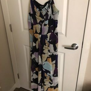 City Chic Size XS/14 Maxi Dress